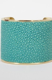 Taylor and Tessier Blue Stingray Cuff