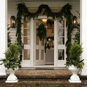 Chic and Classic Southern Living Door Decor