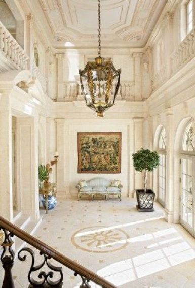 Addison Mizner Palm Beach mansion via Design File