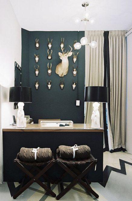 Antlers in design by Nina Freudenberger via Lonny