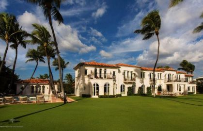 La Guerida estate by Mizner via Palm Beach Post