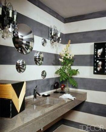Bathroom by Alexandra de Garidel-Thoron  via Elle Decor