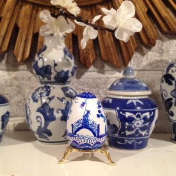 Chinoiserie Eggs by Dana Mahnke on Etsy Indigo Home 3