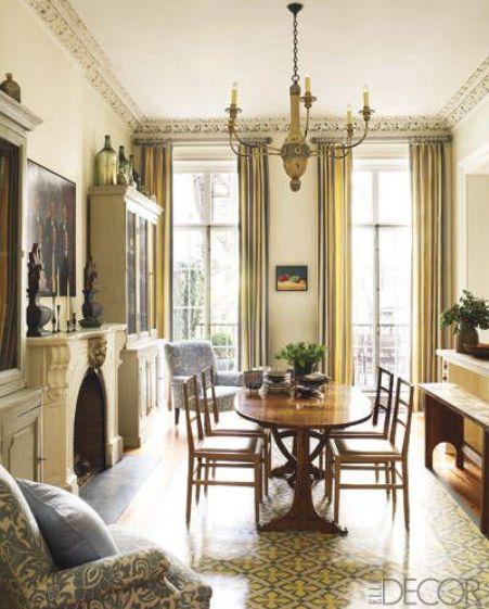 Dining room by Sheila Bridges
