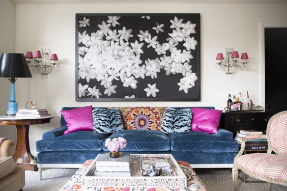 Lots of Color in this place designed by Nick Olsen via Domino