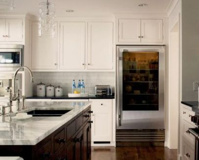 Open Fridge via Elle Decor
