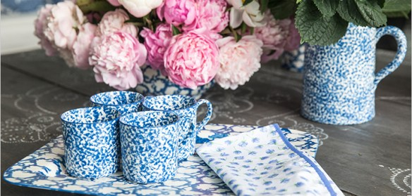 Tory Burch Home Blue & White