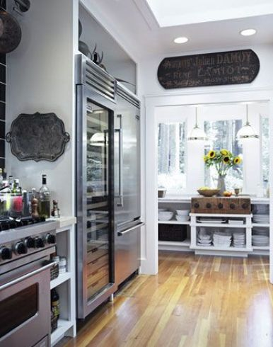 Tyler Florence kitchen via House Beautiful