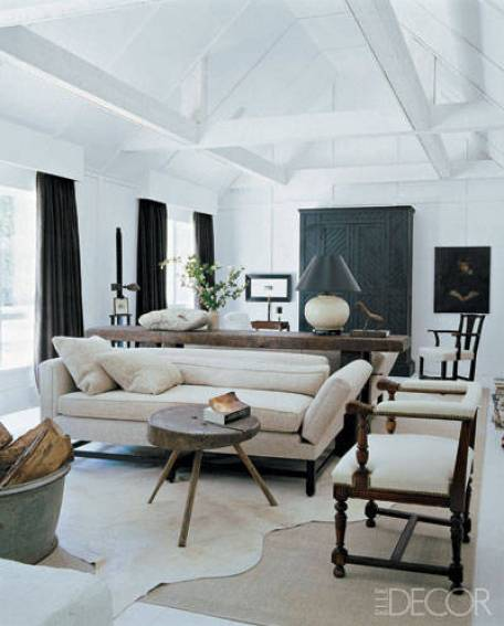 Darryl Carter Virgiinia Farmhouse via Elle Decor
