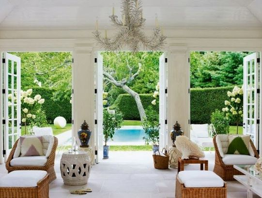 Aerin Lauder Pool House