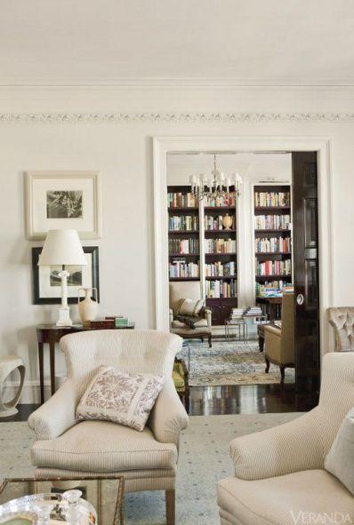 Interior by Thomas O'Brien. via Veranda