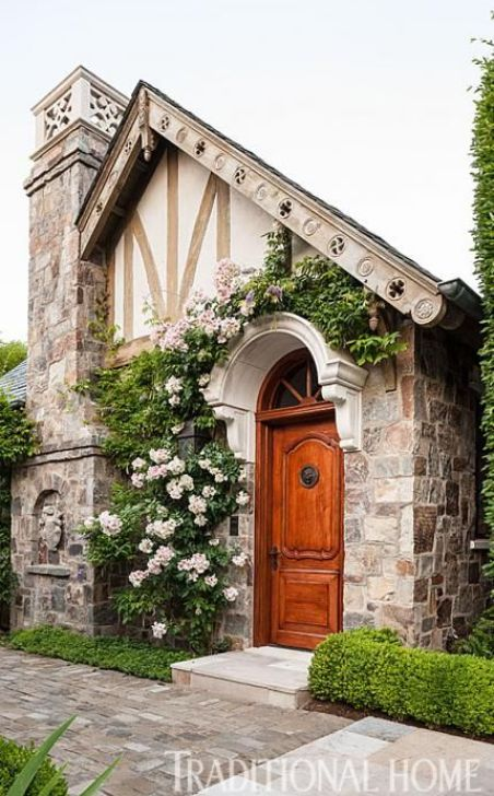 Tudor Guest home via Traditional Home
