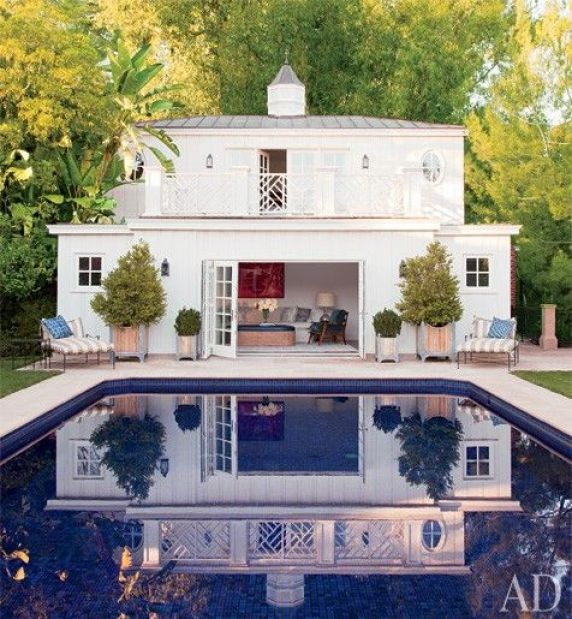 pool house via AD
