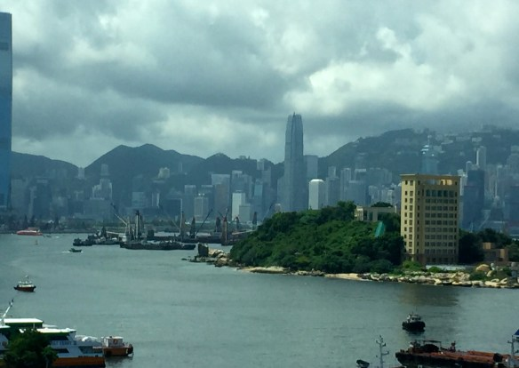 View of Hong Kong via The Potted Boxwood