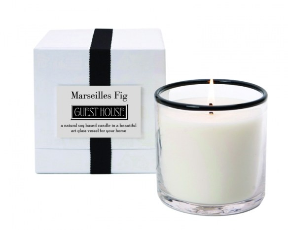 Guest House LAFCO candle
