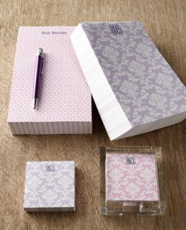 Horchow note pads