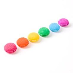 macaroon erasers