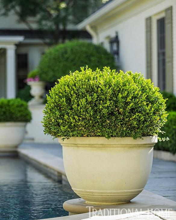 Douglas Hoerr designed garden via Traditional Home 15