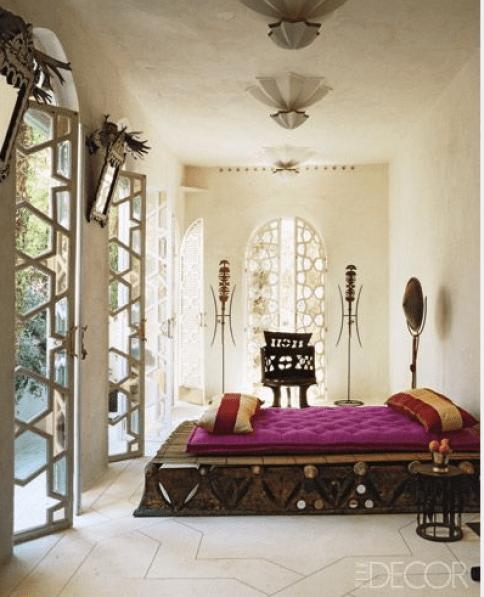 Moroccan Influence 2 via Elle Decor