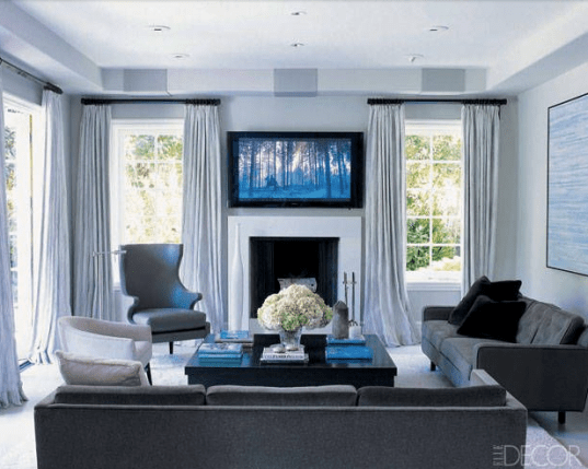 TV room via Elle Decor 3