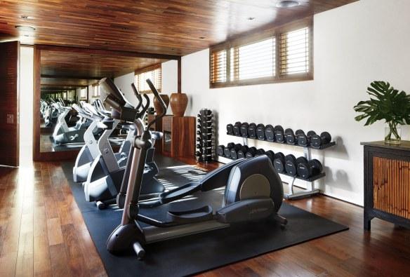 George Clooneys Cabo gym via AD