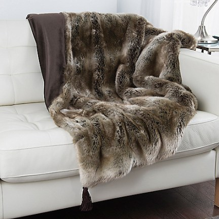 Lisa Vanderpump Fur Throw
