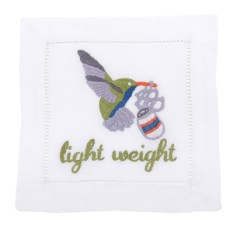 August Morgan Cocktail Napkins Light weight