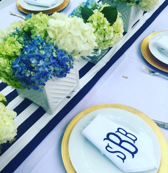 Preppy Bridal Shower on The Potted Boxwood 3