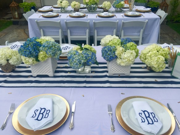 Preppy Bridal Shower on The Potted Boxwood 6