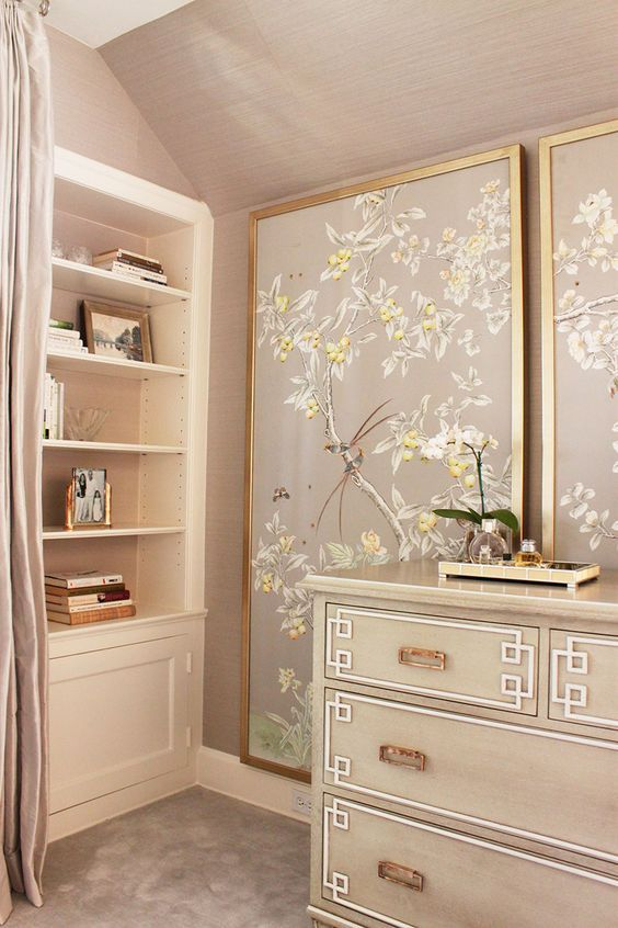 Chinoiserie panels by Laura Tutun interiors