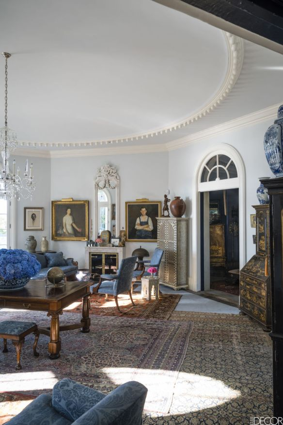Robert Duffy Ferncliff Estate via Elle Decor. 3