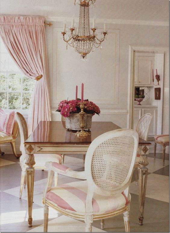 Pink Room Via Veranda
