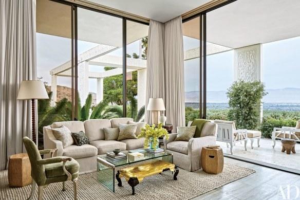 Michael S Smith Palm Springs Home via AD 6