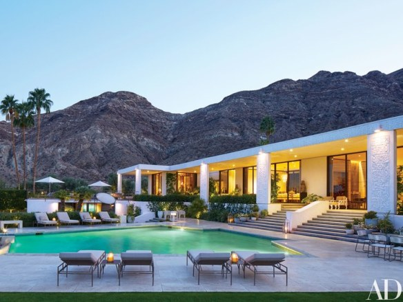 Michael S Smith Palm Springs Home