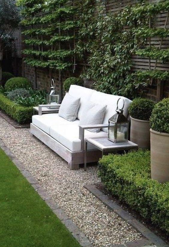 Garden bench via Melissa Penfold