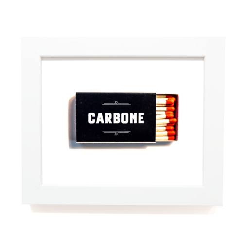 Matchbook Diaries Carbone