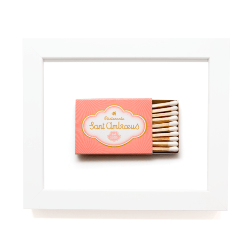 Matchbook Diaries Saint Ambrous