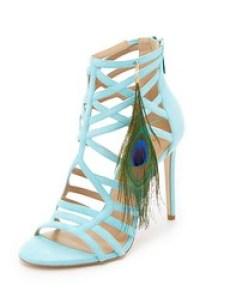 Tamara Melon cage heels