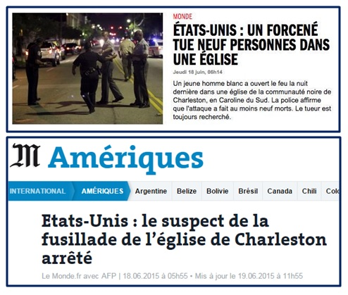 Le Monde - Charleston.