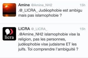La LICRA répond à Amine - Toi comprendre