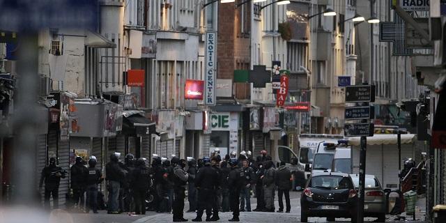 Opération en cours à St Denis !