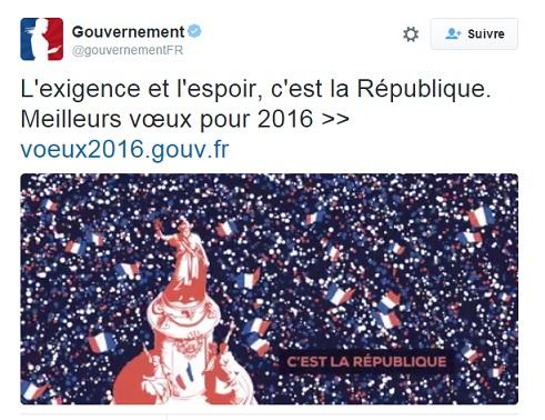 Carte de vœux de Valls à 9,12 € l'unité - ThePrairie.fr !