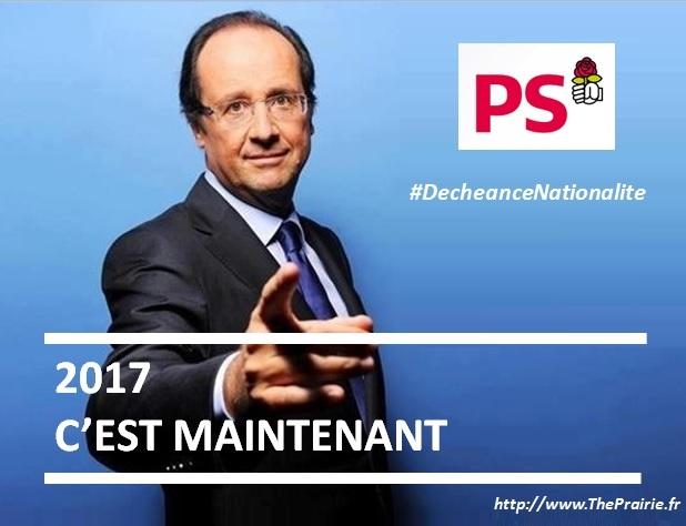 Hollande 2017 c'est maintenant - ThePrairie.fr !