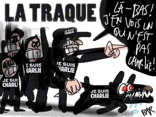 Traque de ceux qui ne sont pas Charlie - ThePrairie.fr !