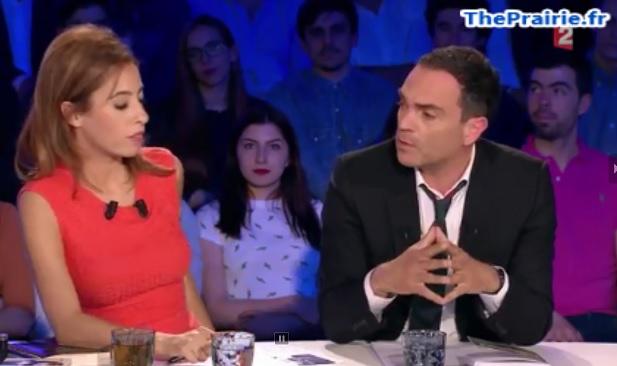 Yann Moix et Léa Salamé, ONPC, 28 mai 2016 - ThePrairie.fr !