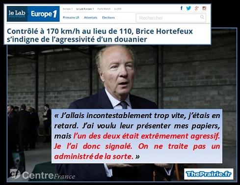 Hortefeux à 170 km/h - ThePrairie.fr !