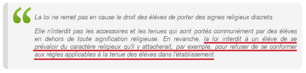 Article II- 2.1, circulaire du 18 mai 2004 - ThePrairie.fr !