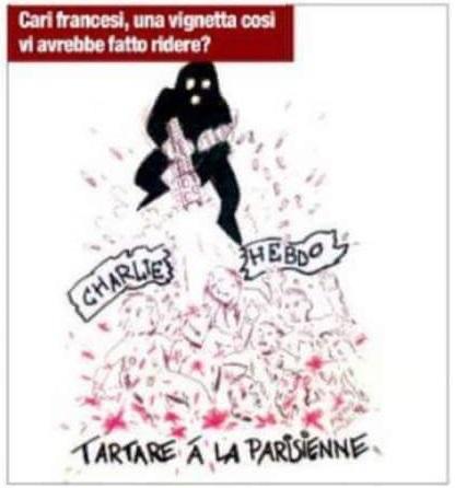 Charlie Hebdo - Réponse à la caricature sur le séisme en Italie - ThePrairie.fr !