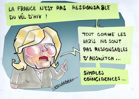 Marine Le Pen et la rafle du Vel d'Hiv - ThePrairie.fr !