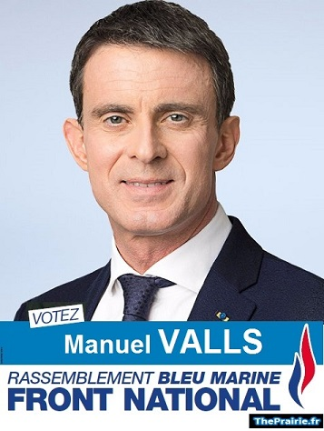 Valls, candidat FN - ThePrairie.fr !